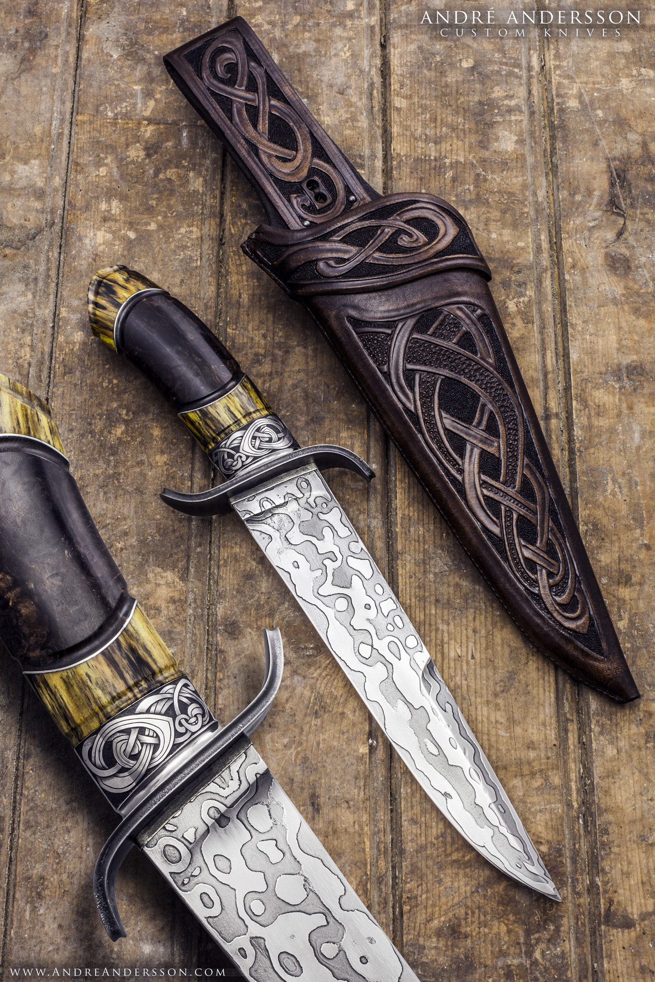 Andr Andersson Custom Knives From Sweden