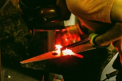 Forging blade shape