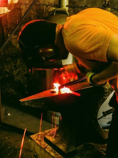 Forging blade shape