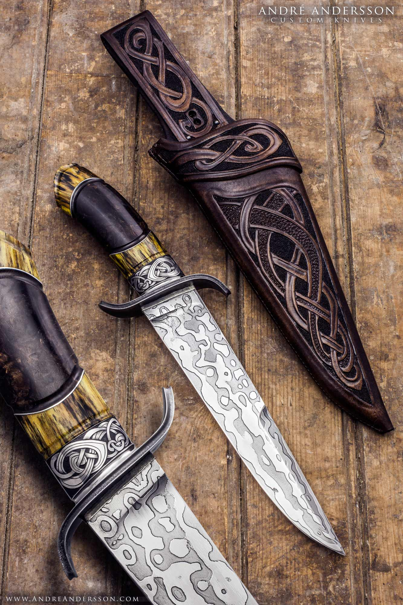 Balders Bowie André Andersson Custom Knives