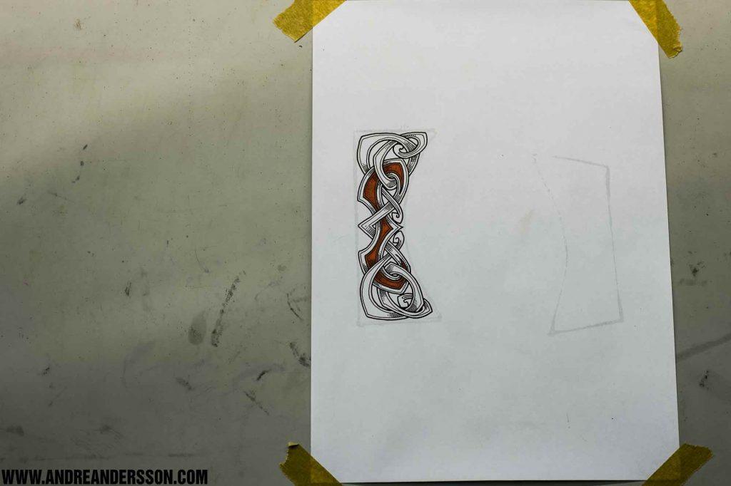 steel-engravings-example-drawing-ink-viking-knot