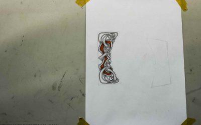 Steel engravings design