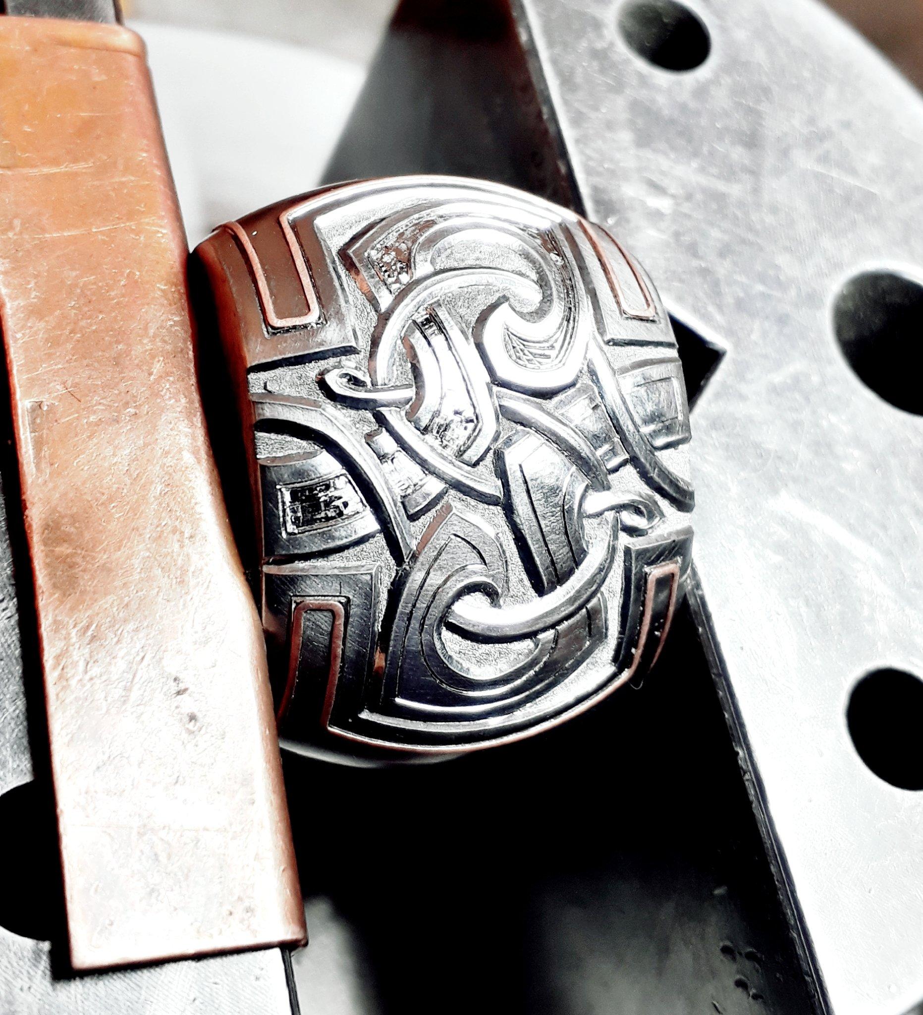 Preparing copper inlays
