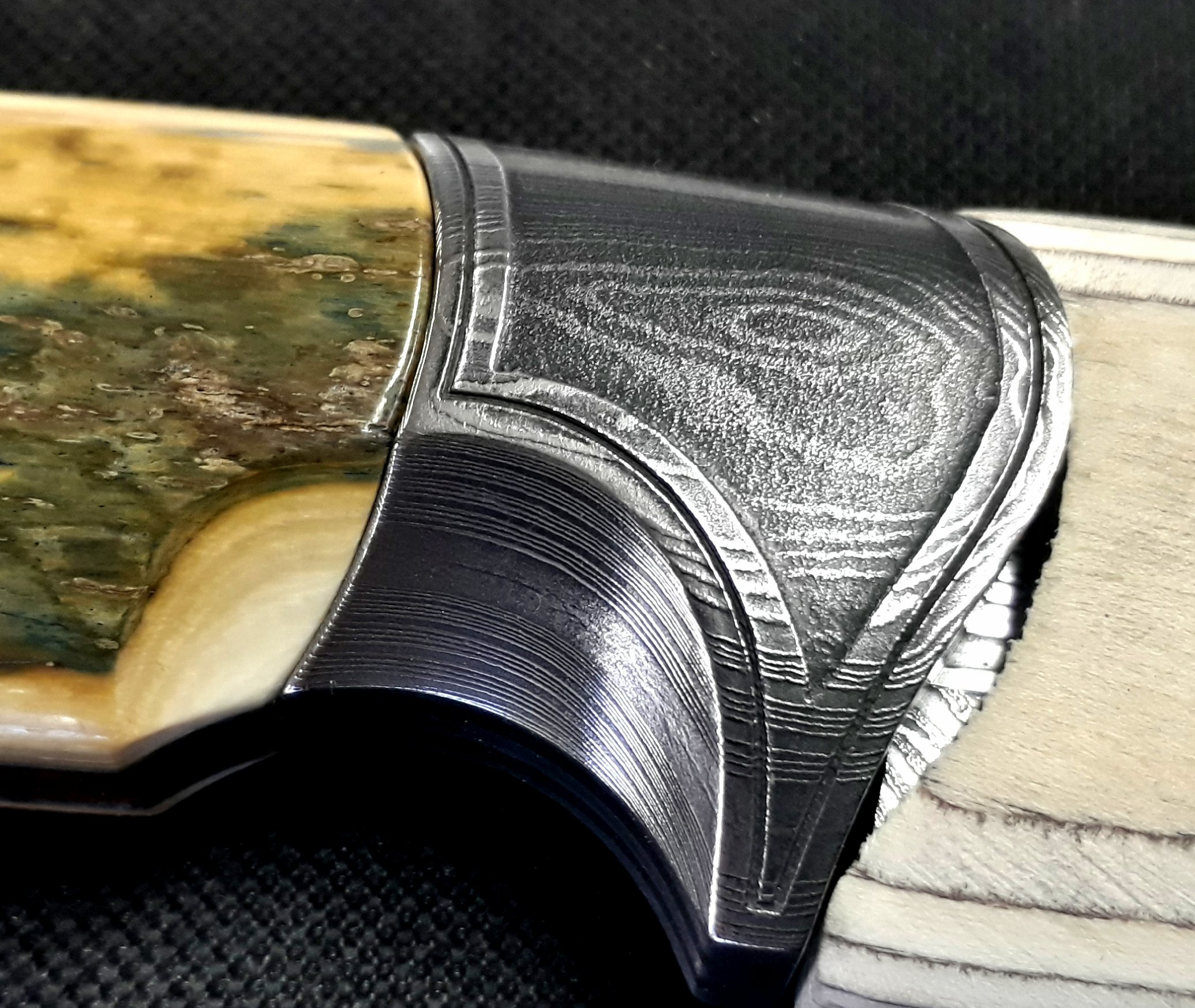 Etched front bolster