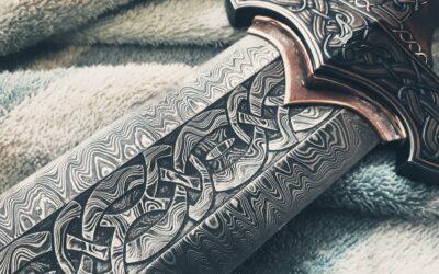 Sharpening sword blade